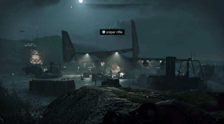 Call of Duty gameplay typography- graphic design in game design
