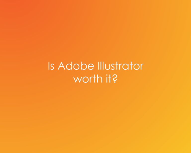 Should you buy Adobe Illustrator? Is it worth it?