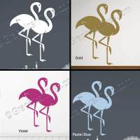 Flamingo Wall Sticker, Home Living Room Bathroom Wall ...