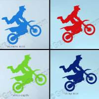 Motocross Wall Stickers Dirt Bike Freestyle Motox Wall ...