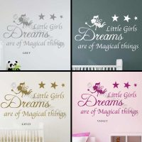 Kids & Nursery Wall Art : Little Girls Dreams Magical ...