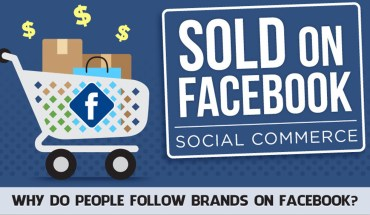 Why Do People Follow Brands On Facebook - Infographic