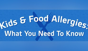 Kids & Food Allergies: What You Need To Know - Infographic