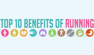 Top 10 Benefits of Running - Infographics