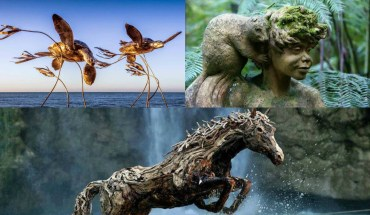 15 Best Carvings On Drift Wood And Wood Logs