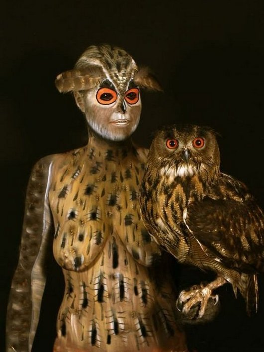 Body Paintings That Camouflaged Perfectly_010