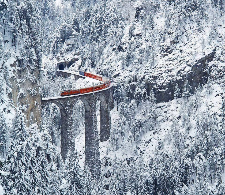 Picturesque Train Journeys Of All Time 14