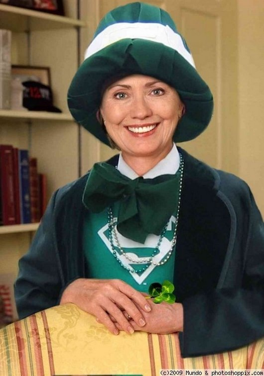 Hilarious Ways Hillary Clinton Was Photoshopped (15)