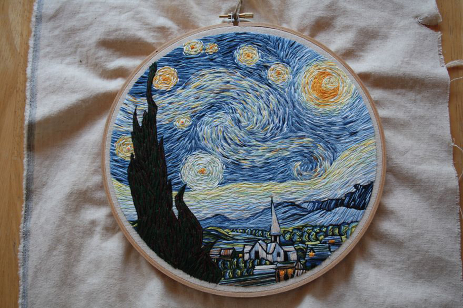 Out-Of-The-Box Embroidery Art 13