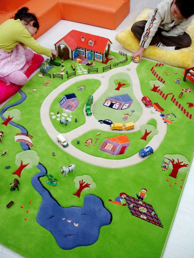 15 Amazing Carpet Ideas For Your Child's Room (10)