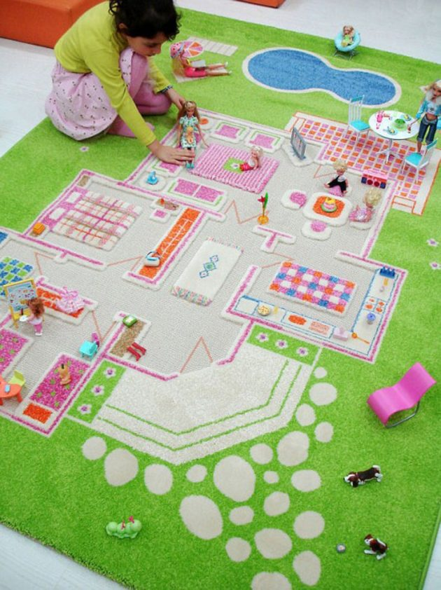 15 Amazing Carpet Ideas For Your Child's Room (13)