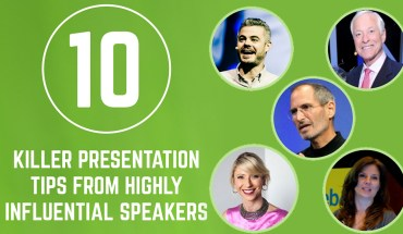 Steve Jobs And 9 Other Influencers On How To Give A Killer Presentation - Infographic
