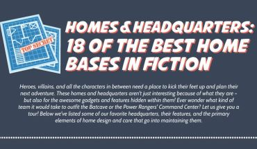 A Tour Into The Homes Of Fictitious Characters