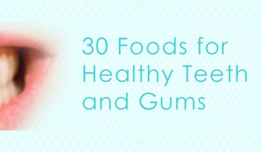 Food Items That Are Best For Oral Health - Infographic