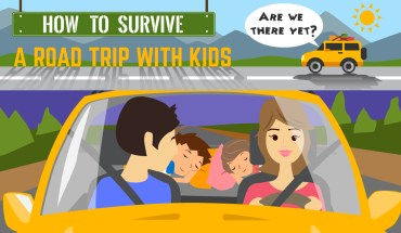 How To Keep Your Kids Entertained On A Road Trip - Infographic