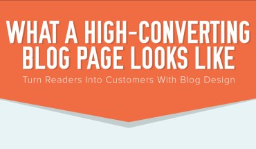 How To Create A Well-Converting Blog Page - Infographic