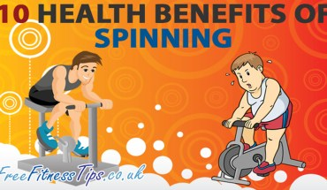 Here Is How Spinning Is Beneficial For Your Health - Infographic
