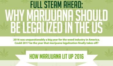 Marijuana Should Not Be Illegal In The US - Infographic