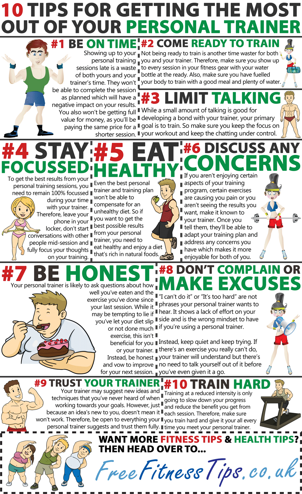 How To Make The Best Out Of Your Personal Trainer - Infographic