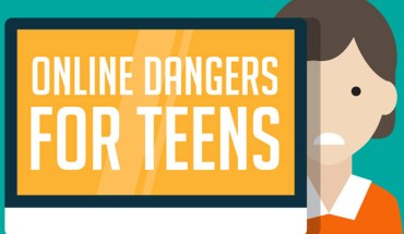 Different Ways The Internet Can Put Teens In Danger - Infographic