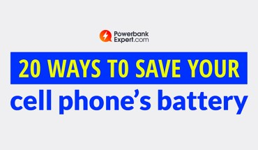 How to Preserve Your Cell Phone Battery - Infographic