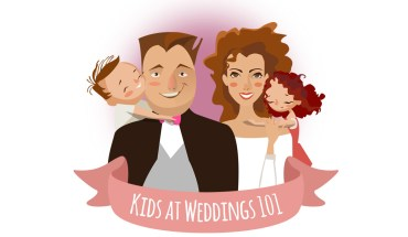 Kids at Weddings – How to Make it Work - Infographic
