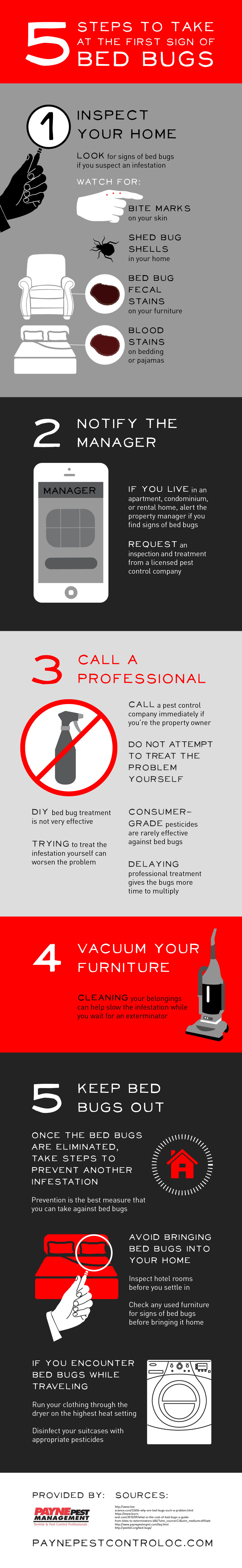5 Methods to Eradicate and Prevent Beg Bugs at Home - Infographic