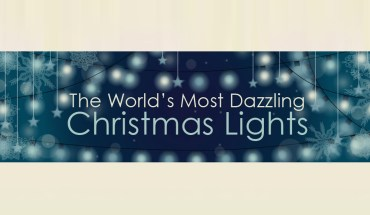 How Christmas Lights Dazzle the World - Infographic