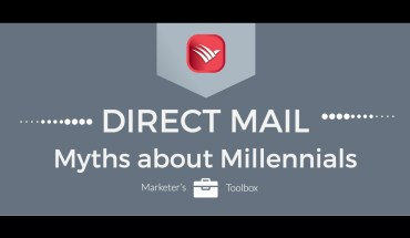 Millennials and Direct Mail: Myths and Reality - Infographic