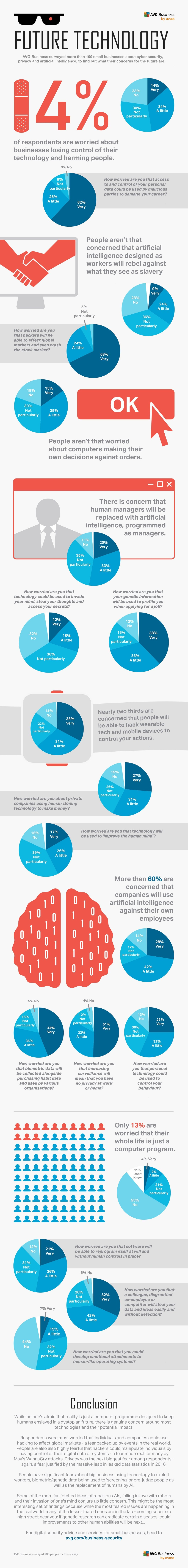 SMBs Perceptions and Fears about the Future of Technology - Infographic