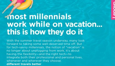 Why and How Millennials Work on Vacation - Infographic