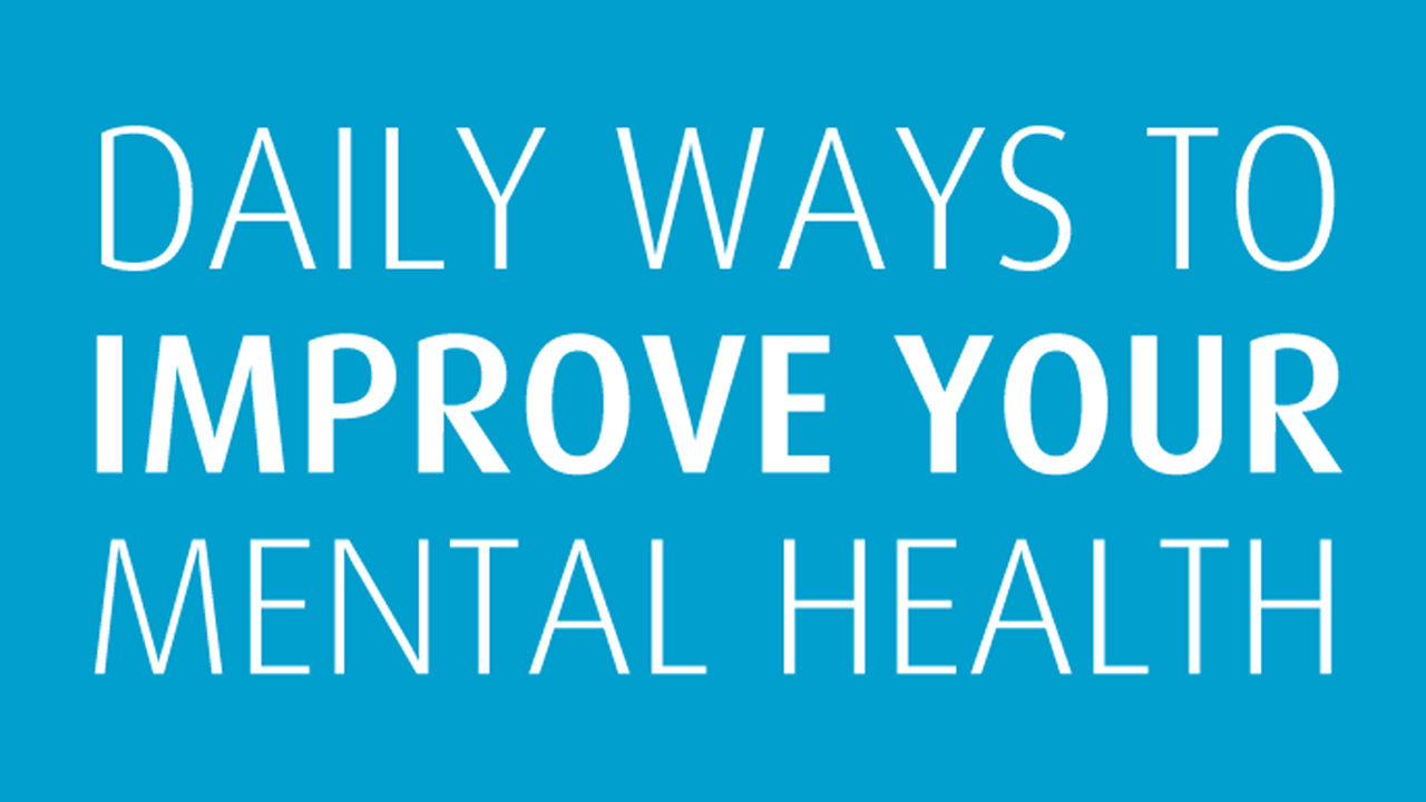 Positive Mental Health 15 Daily Practices  Infographic