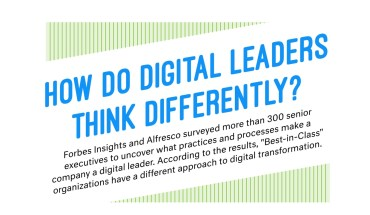 Why Successful Digital Leaders Think Differently - Infographic