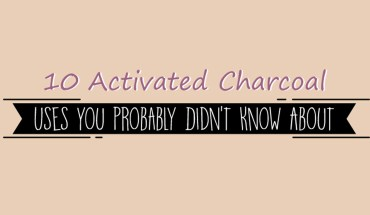 Activated Charcoal: 10 Amazing Uses of This Magical Ingredient - Infographic