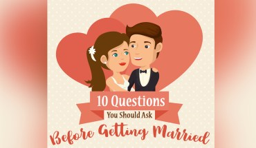 Making Marriages Work: 10 Pre-Nuptial Questions You Should Ask - Infographic
