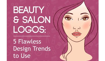 Logo Design Trends in the Beauty & Salon Business - Infographic