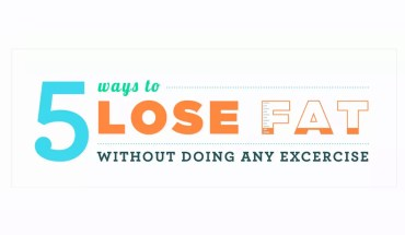 Lose Weight Without Diet and Exercise? Here's 5 Ways How! - Infographic