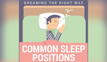 The Dream Pose: How Sleeping Postures Can Help You Dream Blissfully! - Infographic