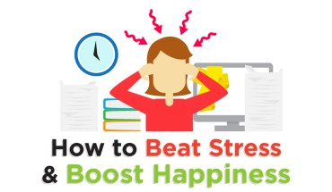 Think Teflon, Not Velcro: How to Beat Stress - Infographic