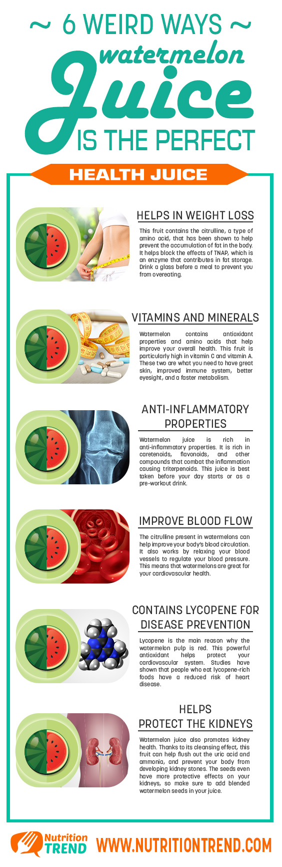 Why Watermelon is Perfect for Summer Health - Infographic