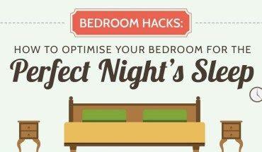 How to Convert Your Bedroom into the Ultimate Calming, Meditation Zone - Infographic