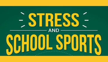 School, Students, Stress and Sports: The Surprising Nexus - Infographic