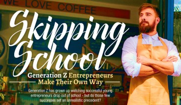The Gen that's Skipping School: Why Gen Z's are Treading the Entrepreneurial Path - Infographic