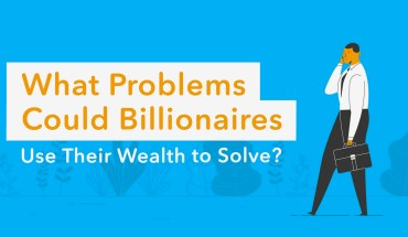 How Much it Would Cost Billionaires to End Society's Biggest Challenges - Infographic