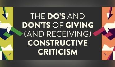 Constructive Criticism Vs Destructive Criticism: Managing the Fine Dividing Line - Infographic