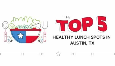 Hit the Health Spot: Top 5 Healthy Lunch Spots in Austin, TX - Infographic