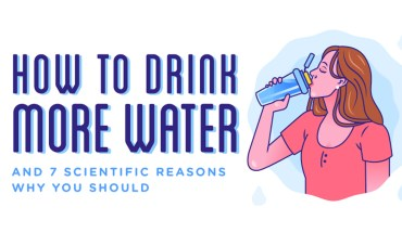 Drink More Water: Try These Hacks - Infographic