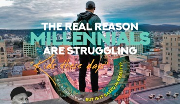 Varnished Perceptions Vs Unvarnished Reality: Why Millennial Bashing is Unfair - Infographic