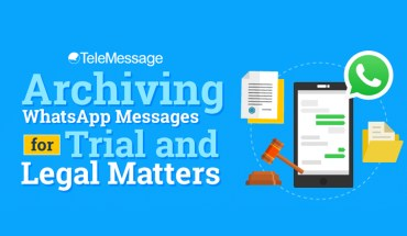 Archiving WhatsApp Messages for Trial and Legal Matters - Infographic