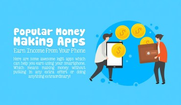 Popular Money Making Apps for Android and iOS- Infographic